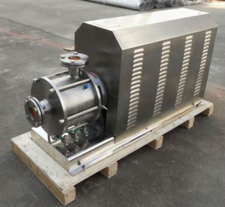 inline mixer or called high shear pump is applicated for